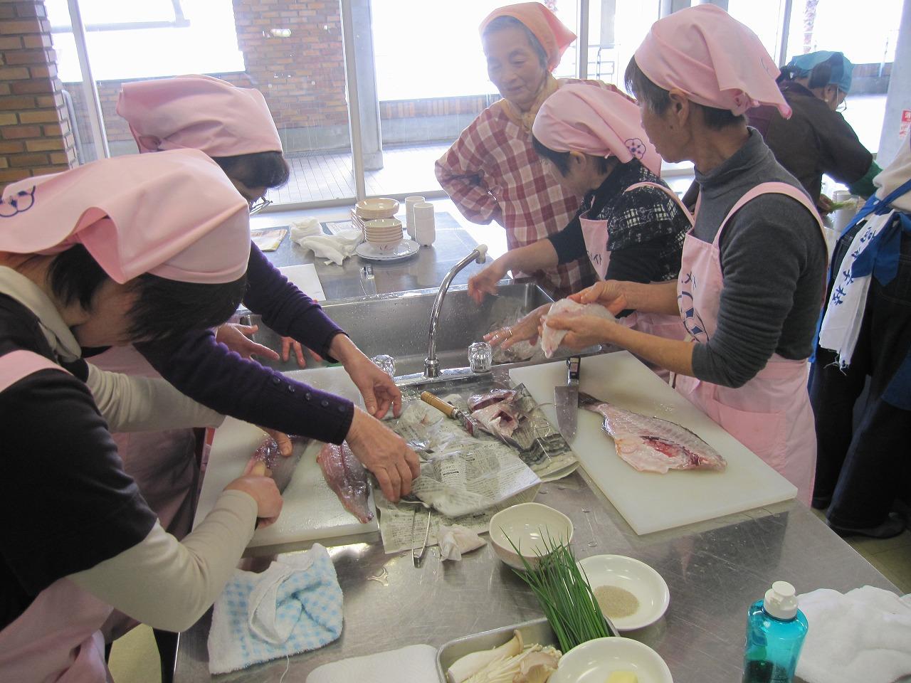初心者向け「お魚さばくだけ教室」開催! イメージ